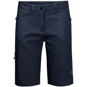 Jack Wolfskin Activate Track Shorts Dames, midnight blue